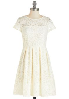 Cream and Sugar Cookie Dress, #ModCloth
