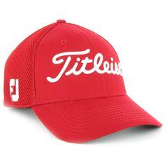 Titleist Sports Mesh 2012 Headwear Apparel L/XL Red