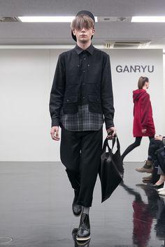 [No.15/65] GANRYU 2014~15秋冬コレクション | Fashionsnap.com