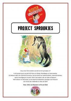 Sprookjes project – Kleuteruniversiteit Wolf, Class Of 2018, Red Riding Hood, Little Red, Knight, Fairy Tales, Kindergarten, Van, School