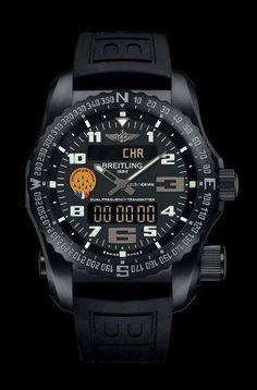 luxury watches Cockpit - Versionen - Breitling - Instruments for Professionals Breitling Watches, Men's Watches, Sport Watches, Cool Watches, Fashion Watches, Men's Fashion, Fashion Outfits, Swiss Luxury Watches, Men Watches