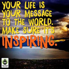 What does your life say about you? #FairTrade #quote #quoteoftheday #inspirational #inspirationalquote