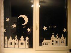 Noční městečko Crafting