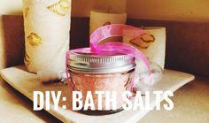 DIY: Bath Salts // C