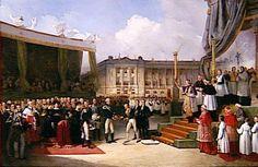 Beaume - Inauguration du monument a la mémoire de Louis XVI par Charles X