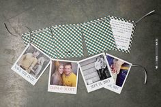 cute save the date banner | VIA #WEDDINGPINS.NET