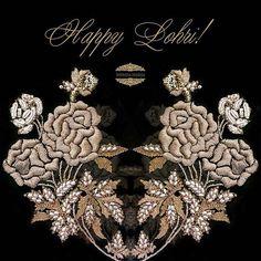 Here's wishing everyone a warm and happy Lohri! Zardosi Embroidery, Pearl Embroidery, Hand Embroidery Dress, Embroidery Suits Design, Embroidery On Clothes, Couture Embroidery, Hand Embroidery Designs, Embroidery Art, Embroidery Stitches