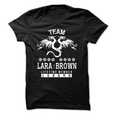 LARA BROWN The Awesome T-Shirts, Hoodies. Check Price Now ==► https://www.sunfrog.com/LifeStyle/LARA-BROWN-the-awesome-79263184-Guys.html?id=41382