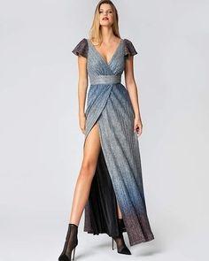 Maxi ντεγκραντέ φόρεμα  Παλτό midi τύπου μοχέρ#style#fashion#chic#elegant#streetstyle #fashionable#stylish#designer#instafashion#fashionkalogirou#fashiondaily #ootd#outfitinspiration #greekfashion#newarrivals #newcollection #instafashion#fashiondaily#instadaily#styleoftheday#instastyle#fashionmodel#store#instafollow#instalike#dailylook Formal, Style, Fashion, Preppy, Swag, Moda, Fashion Styles, Fasion