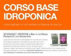 CORSO BASE IDROPONICA -         HYDROINVENT s.r.l.