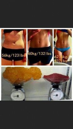 Fat vs. muscle...don't get discouraged by numbers on the scale!