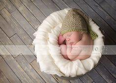 Baby Boy Hats, Crocheted Newborn Hat, Newborn Hats, Gnome Hat, Cotton Newborn Hat, Newborn Photo Props, Crochet Infant Hat. $24.00, via Etsy.