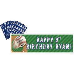 MLB Personalized Banner