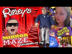 Ripley's Mirror Maze | Old Creepy Man Crush ❤ Dino Boogers | 5D Movies (Gatlinburg, TN Family Vlog) - YouTube