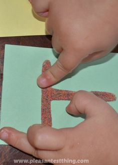 Touch and Feel ABC Cards: sensory letter exploration. glue and sand! Creative Activities For Kids, Alphabet Activities, Literacy Activities, Infant Activities, Preschool Ideas, Montessori, Learning Letters, Kids Learning, Abc Cards