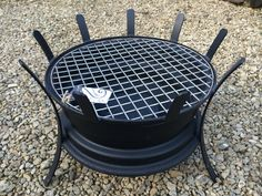 Recycled Car Wheel BBQ / Fire Pit