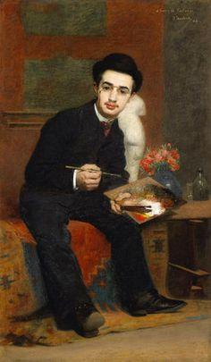 Portrait du peintre Henri de Toulouse-Lautrec, 1883                                                                                                                                                                                 Mais