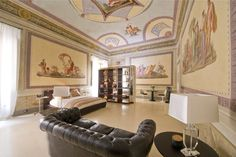 luxury rental in Florence, luxury flat in Florence, flat to let Florence, large Florence apartment to rent - Santa Croce Apartments For Sale, Luxury Apartments, Rental Apartments, Luxury Homes, Florence Apartment, Historic Homes, Luxury Real Estate, Room Inspiration, Home Kitchens