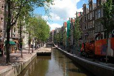 gracht, wasser, kanal, amsterdam, holland