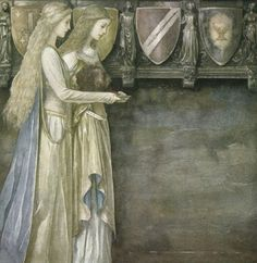 artist - Alan Lee...from Perudur, Son of Efrawg - The Mabinogion - Medieval Welsh Tales