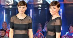The presenter looked incredible once again for the live show - opting for an LBD tonight