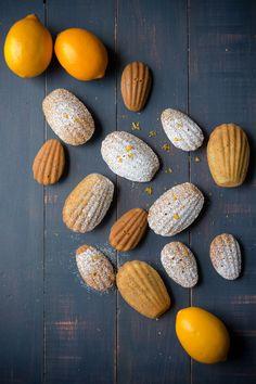 Meyer Lemon Poppyseed Madeleines via Sift & Whisk
