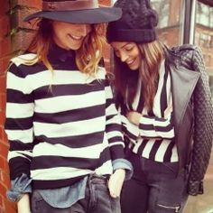 How to Chic: STRIPED SWEATER