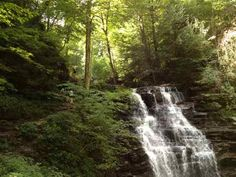 HIKING RICKETTS GLEN. One of the most beautiful places in America. Over 20 waterfalls in this 7.2 mile hike.