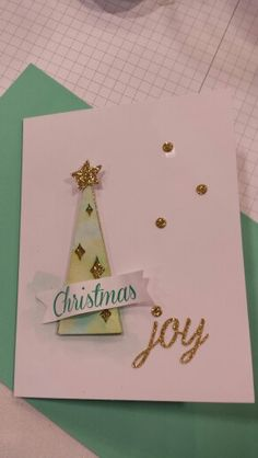 Stampin' Up! demonstrator Glenda T's project showing a fun alternate use for the Watercolor Winter Simply Created Card Kit.