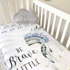 Dream Catcher Baby Bedding Best Cot Quilt ~ Dream Catcher Cotton Nursery Linen Baby Bedding Www 2018