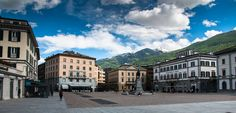 Sondrio Piazza Garibaldi