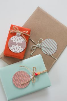 9 free printable gift tags for the holidays, all of them gorgeous. (And FREE!)