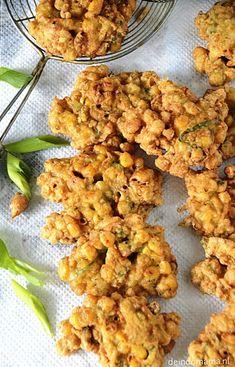 … oftewel Indische maïskoekjes, een heerlijke snack. Veggie Recipes, Lunch Recipes, Asian Recipes, Vegetarian Recipes, Corn Fritters, Indonesian Food, Indonesian Recipes, Middle Eastern Recipes, Soul Food
