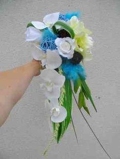Mariage en turquoise 300 225 les v hicules des mari s pinterest mariage - Bouquet mariee bleu ...