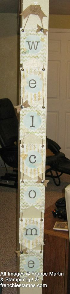Stamp & Scrap with Frenchie: Welcome Banner Simply Kit Banner