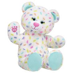 Sweet Sprinkles Bear | Shop Online Now at Build-A-Bear® Teddy Bear Birthday Cake, Birthday Cake Gift, Gift Cake, Special Birthday, Build A Bear Online, Bear Shop, Toys For Tots, Rainbow Sprinkles, Party Stores