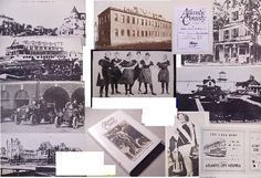 ATLANTIC CTY NJ 150y PHOTO/history CITY SHORE BOARDWALK pleasantville smithville