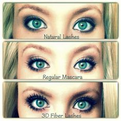lashes from Younique are AMAZING! This and a couple more reasons are why I signed up to join the Younique Family! 3d Fiber Mascara, 3d Fiber Lashes, 3d Fiber Lash Mascara, Thick Lashes, Natural Lashes, False Lashes, Long Lashes, Fake Eyelashes, Lash Enhancers