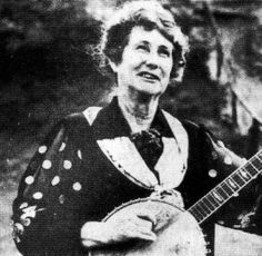 """She entered her first music contest in Canton, N.C., when she was still playing her """"cheap 10 cent banjo,"""" Samantha Bumgarner told a Sylva [NC] Herald reporter years later."""