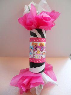 love this!! Zebra print mini party favor