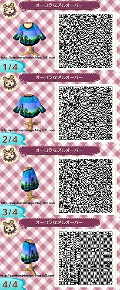 my name is claudia and you can find qr codes for animal crossing here! I also post non qr code related stuff so if you're only here for the qr codes please just blacklist my personal tag. Qr Code Animal Crossing, Animal Crossing Qr Codes Clothes, Jumper, Ballerina Outfit, Flowey Undertale, Motif Acnl, Ac New Leaf, Happy Home Designer, Doja Cat