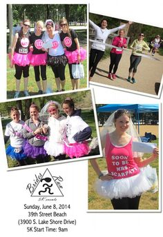 A 5k Fit for a Bridal Party   Brides Run 5K   Chicago 5K   Sassy Chicago Weddings   Wedding Guide Chicago
