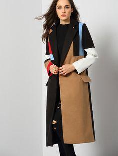 SheIn(sheinside) Multicolor Open Front Faux Fur Vest ($56