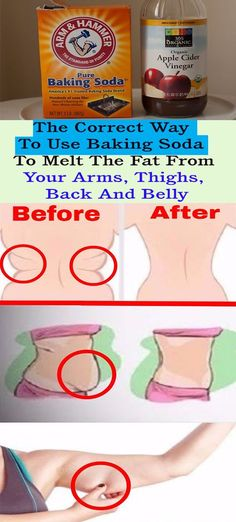 The Correct Way To Use Baking Soda To Melt The Fat From Your Arms, Thighs, Back And Belly- DIY – Let's Tallk