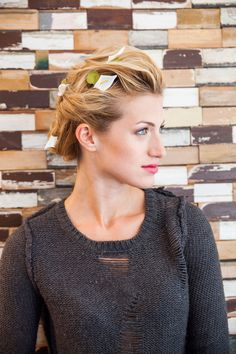 Doing Your Own Wedding Hair : Need a hair cut on Pinterest Chignons, Smooth Skin and ...