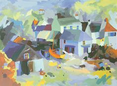 Cadgwith Boathouse by Richard Tuff