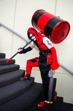 Male Harley Cosplay | Man Harley Quinn by The-Prez