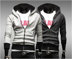 Men's Zipper Hoodie with Pockets