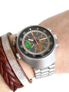 1969 OMEGA Flightmaster #watch