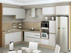 cozinha com janela de canto - Pesquisa Google